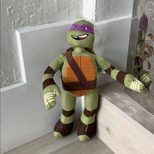 Teenage mutant ninja turtle plush toy donatello